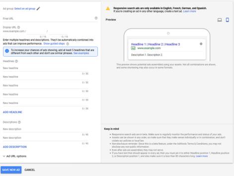 Google Expanded Text Ads verdwijnen volgend jaar